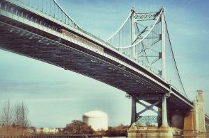 Ben Franklin Bridge by ScottJWyatt
