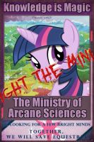 [Poster] FoE:The Ministry of Arcane Sciences graf by WmSonee
