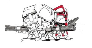 SD clone troopers by 509freak