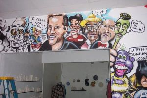 jeff dunham mural by KevinC72588