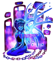[for sale/speedpaint] Steven Universe: Lapis by prpldragonart