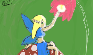 Blonde Fairy by bernetwolfamber1