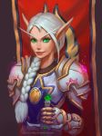 Blood Elf, Paladin by lowly-owly