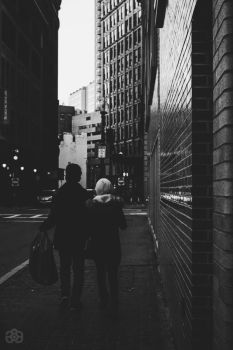My Friend and his Girlfriend by Artisticgram