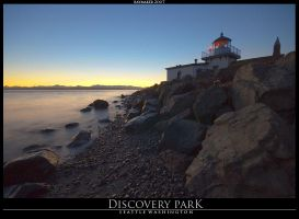 Discovery Park Sunset by Raymaker