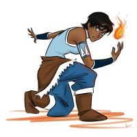 Pixie Cut Korra by KthaP