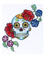 Sugar skull by An-i-ka