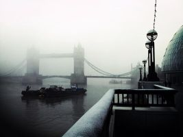 Winter at Tower Bridge, London by JRCSmith