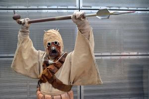 Tusken Raider Cosplay (2) by masimage