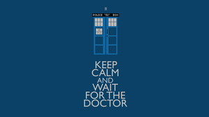 wait for the Doctor -wallpaper by rotschwarze