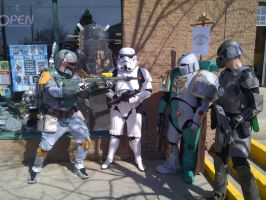 Comic Book Day Cosplay - Boba Fett, 40K, more! by dantetv