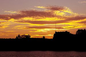 Eiswerder - View to Spandau by JustAnOrdinaryLife