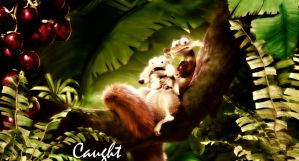 Caught! |  Scrat and Scratte by Niall-Larner