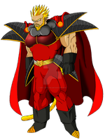 EMPEROR DAJJAL (Super Saiyan 2) by ERIC-ARTS-inc