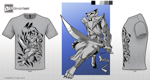 Rakshasa T-shirt Design Challange by RobertFiddler