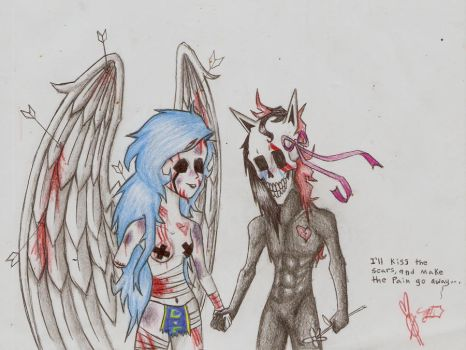 In love with your guardian angel by lupus-amoris