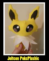 Jolteon Chibi PokePlushie by PakajunaTufty
