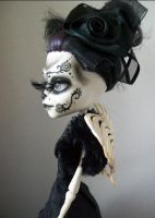 Monster High Day of the dead custom skelita by AdeCiroDesigns