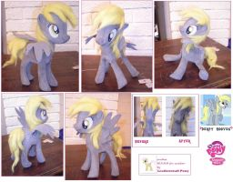 Derpy Hooves figurine by anthropochick