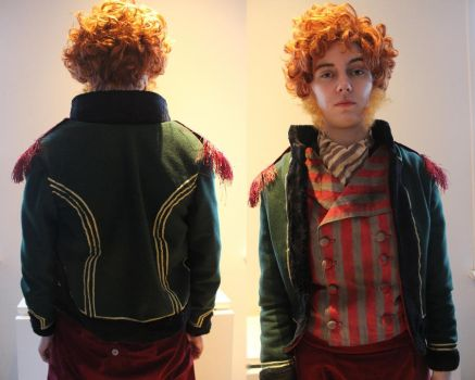 Monsieur Thenardier WIP by PixiePokers