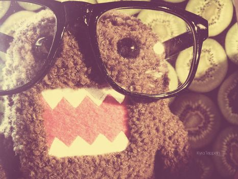 Hipster Domo by KyraTeppelin