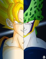 Goku Vs Cell by Trunks777