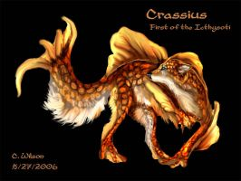 Crassius - Icthysoti of Echo by WindSeeker