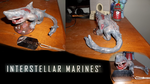 Project IM: Carcharodon Polemos sculpt painted! by Superman999