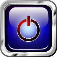 Icon multimedia blue power by froshellin