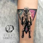 Astonaut n Space by koraykaragozler