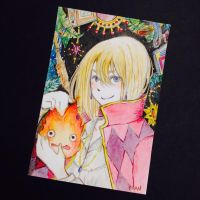 Howl's moving castle by berryfranny