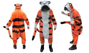 Hobbes kigurumi by diemortalroom