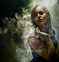 Beauty in smoke by Christ-Off