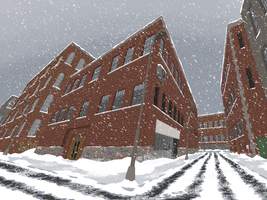 MS Paint - Snowy Bronx by Plutonia-V41