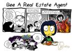 Beeswhacks 018- Bee A Real Estate Agent by InYuJi