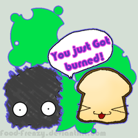 2 toast burnt ChibiMR by Nomiiko