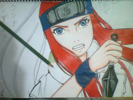 Kushina - incomplete - by Thaay7