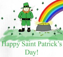 Happy Saint Patrick's Day by She-Nomad