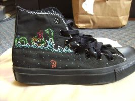 VDT Sea Monster Ship Shoe by MolecularClouds