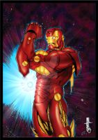 IRONMAN by scribblebri by joephotoshop