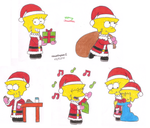 Santa Lisa Artworks by MarioSimpson1