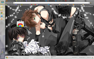 Chrome Theme-Suzalulu (dark) by i-love-harvest-moon