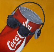Dancing Coke Can by radioactive-orchid