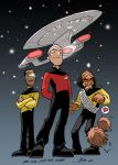 Star Trek 25 years by NachoMon