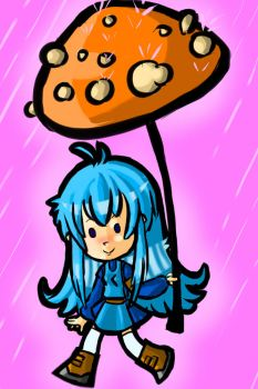 Mushroombrella by KinkyDonkey