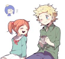 Tweek and Ruby by yoyterra
