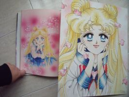 My Sailor Moon 'authentic art' by Suki-Manga