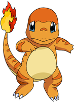 Charmander two by Thunderwest
