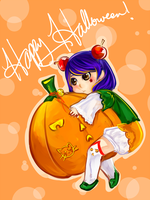 MAGE- It's a pumpkin by Pikakus