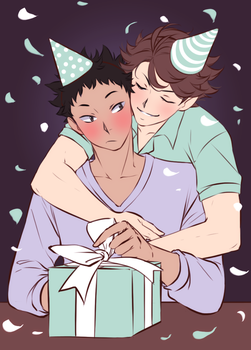 Happy birthday, Iwa-chan! by Emily-Fay